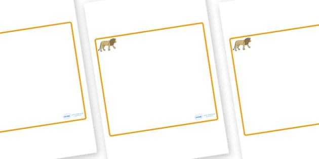 Lion Themed Editable Classroom Area Display Sign - Themed Classroom Area Signs, KS1, Banner, Foundation Stage Area Signs, Classroom labels, Area labels, Area Signs, Classroom Areas, Poster, Display, Areas