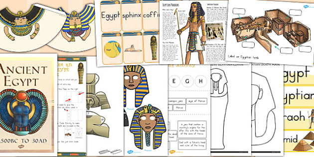Ancient Egypt Lapbook Creation Pack - australia, lapbook, pack