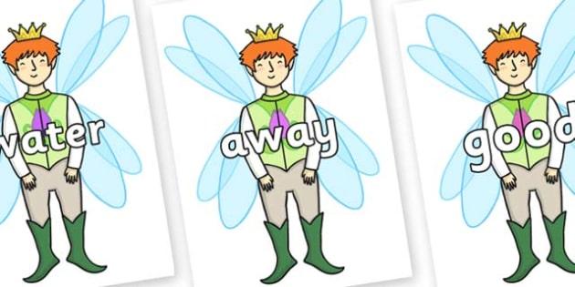Next 200 Common Words on Fairy Prince - Next 200 Common Words on  - DfES Letters and Sounds, Letters and Sounds, Letters and sounds words, Common words, 200 common words