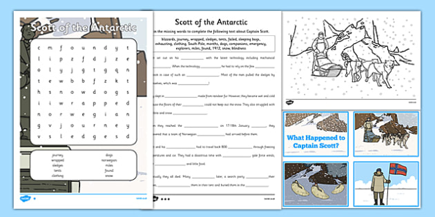 Scott of the Antarctic by AllyUganda - Teaching Resources - Tes
