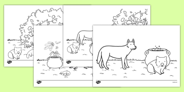 The Stew Colouring Sheets australia