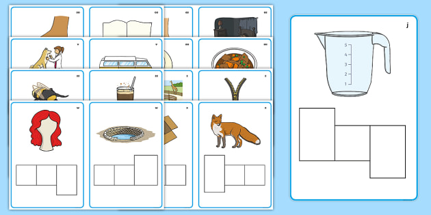Phase 3 Letter Shape Phoneme Frames - Phoneme Frames printable, Phase 3, Phase three, space, rocket, phoneme frame, phoneme, phonemes, Segmenting, DfES Letters and Sounds, Letters and sounds