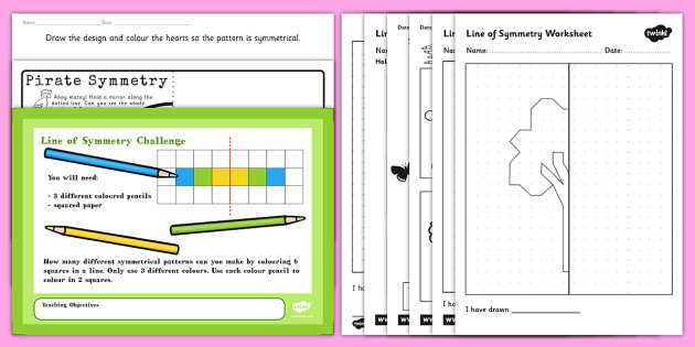 Symmetry Activity Resource Pack - Symmetry Games and Activities