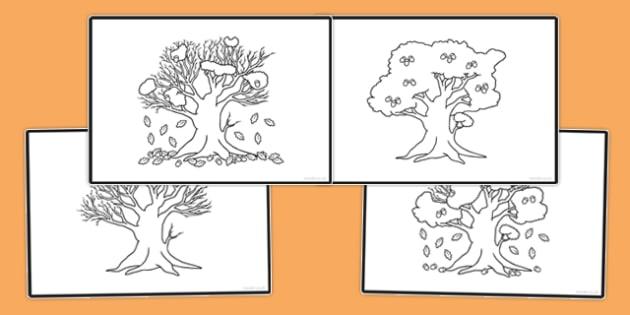 Autumn Sequencing Activity - autumn, sequencing, activity, sequence, republic of ireland