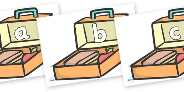 Phase 2 Phonemes on Lunch Boxes - Phonemes, phoneme, Phase 2, Phase two, Foundation, Literacy, Letters and Sounds, DfES, display