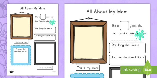 All About My Mom Poster - usa, america, all about my mum, poster, display poster, display, mothers day