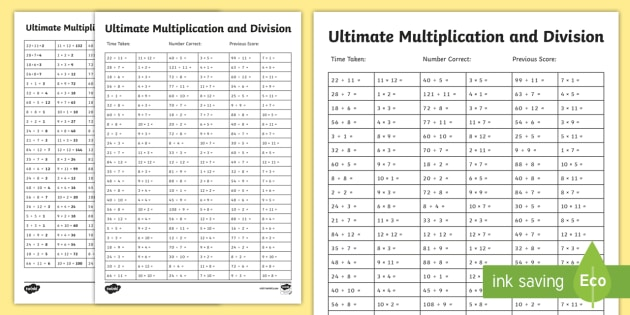 ultimate multiplication and division worksheet  worksheet  ultimate ultimate multiplication and division worksheet  worksheet  ultimate  multiplication and division worksheet  worksheet pack