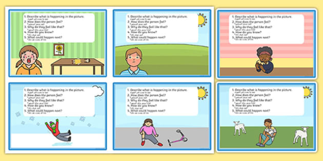 Inference Picture Cards Arabic Translation - pictures, visual, activity, questions, inferential question, inferential questions, inferrence, eal, mfl