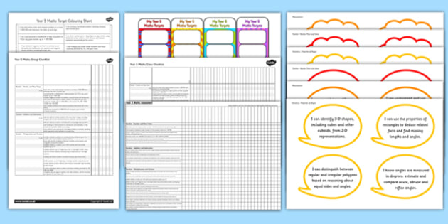 2014 National Curriculum Year 5 Maths Assessment Resource Pack - numeracy