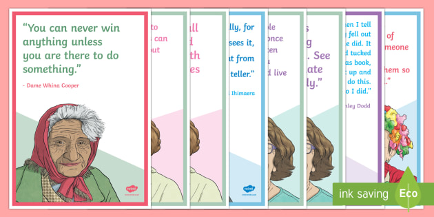 New Zealand Quotes for Reading Corner Display Posters - NZ Literacy Resources, new zealand, english, literacy, reading, books, display, motivational, inspir