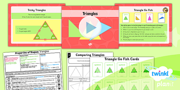 PlanIt Maths Y4 Properties of Shapes Lesson Pack Geometric Shapes (1)