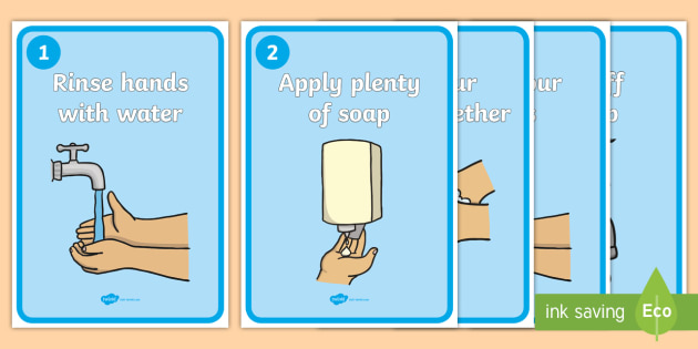 how to clean our hands