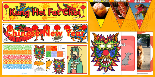 Ready Made Chinese New Year Display Pack - ready made, display