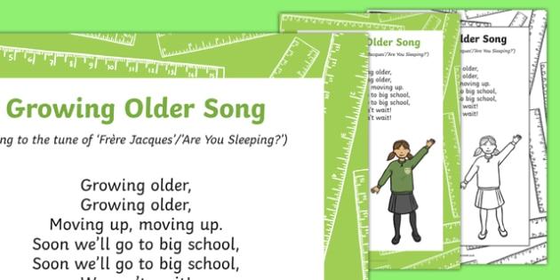 Growing Older Song