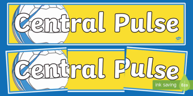 Central Pulse Netball Display Banner