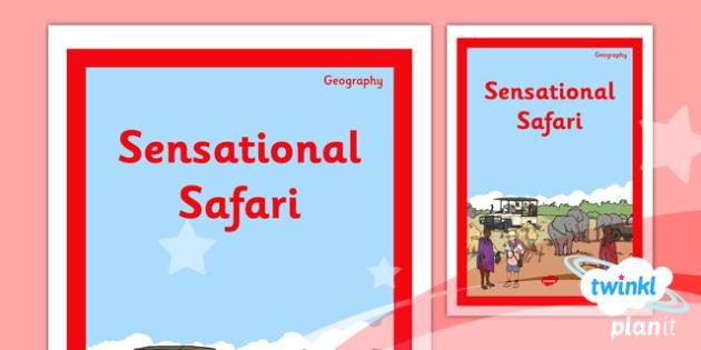 Geography: Sensational Safari Year 2 Unit Book Cover