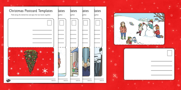 Christmas Post Office Post Cards - christmas post office, christmas, post office