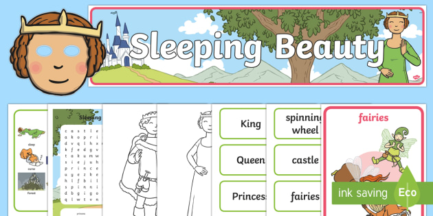 Sleeping Beauty Story Sack - sleeping beauty, stories, traditonal