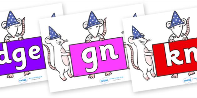 Silent Letters on Magic Mice - Silent Letters, silent letter, letter blend, consonant, consonants, digraph, trigraph, A-Z letters, literacy, alphabet, letters, alternative sounds