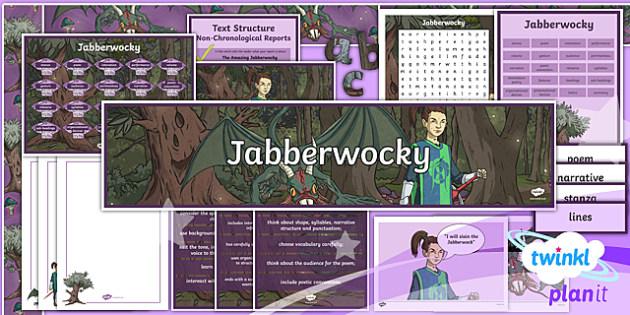 PlanIt Y5 Animals: Jabberwocky Additional Resources