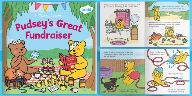 * NEW * Pudsey's Great Fundraiser eBook