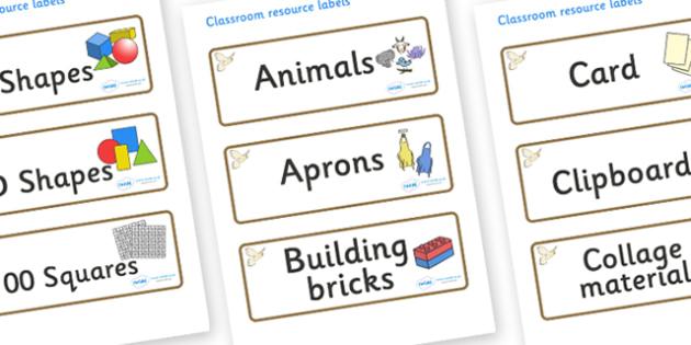 Kestrel Themed Editable Classroom Resource Labels - Themed Label template, Resource Label, Name Labels, Editable Labels, Drawer Labels, KS1 Labels, Foundation Labels, Foundation Stage Labels, Teaching Labels, Resource Labels, Tray Labels, Printable l