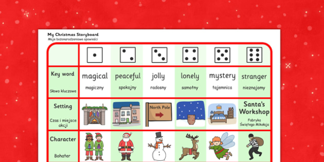 Christmas Story Writing Activity Polish Translation - polish, christmas, story, writing, activity