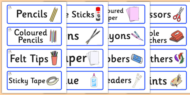Sports Themed Editable Creative Area Resource Labels - Themed creative resource labels, Label template, Resource Label, Name Labels, Editable Labels, Drawer Labels, KS1 Labels, Foundation Labels, Foundation Stage Labels