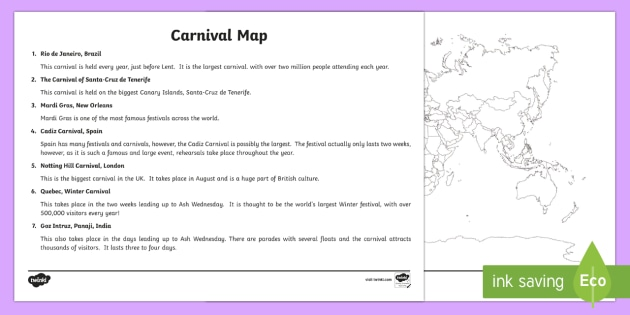 Carnivals around the world map labelling activity ks2 carnivals around the world map labelling activity ks2 geography maps atlas gumiabroncs Gallery