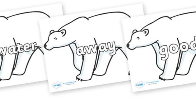 Next 200 Common Words on Polar Bears - Next 200 Common Words on  - DfES Letters and Sounds, Letters and Sounds, Letters and sounds words, Common words, 200 common words