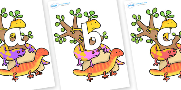 Phoneme Set on Reptiles to Support Teaching on The Great Pet Sale - Phoneme set, phonemes, phoneme, Letters and Sounds, DfES, display, Phase 1, Phase 2, Phase 3, Phase 5, Foundation, Literacy