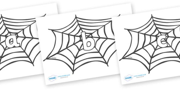 Phase 2 Phonemes on Spiders Web - Phonemes, phoneme, Phase 2, Phase two, Foundation, Literacy, Letters and Sounds, DfES, display