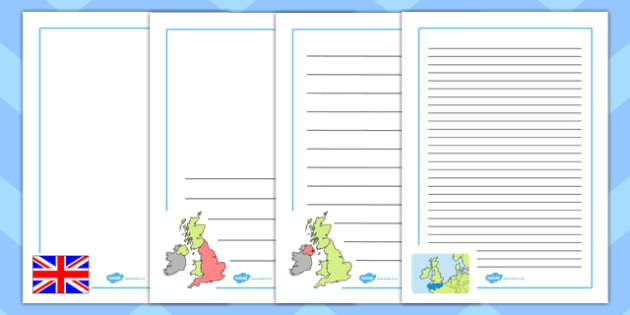 Our Country UK Page Borders - our, country, uk, page, borders