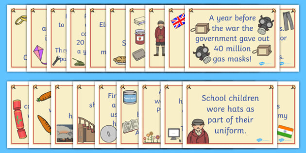 World War Two Facts Posters - world war two, world war two facts, world war two posters, world war two display posters, world war 2, ww2, world war II