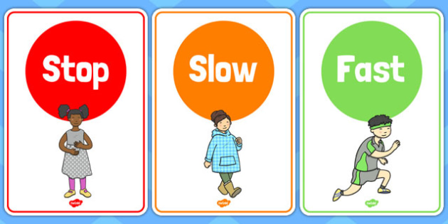 Traffic Lights Listening Game Picture Cards - traffic light, game