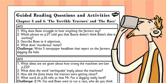 Free Guided Reading Questions Chapters 5 And 6 To Support Teaching On