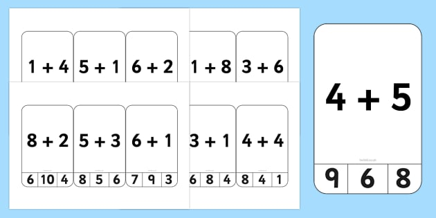 Addition to 10 Peg Activity - activities, game, games, pegs