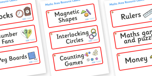 Ginko Tree Themed Editable Maths Area Resource Labels - Themed maths resource labels, maths area resources, Label template, Resource Label, Name Labels, Editable Labels, Drawer Labels, KS1 Labels, Foundation Labels, Foundation Stage Labels, Teaching