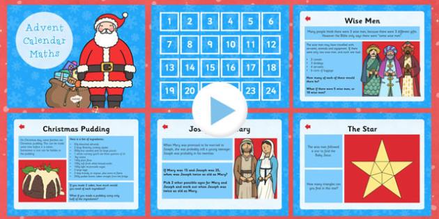 Calendar Ideas Twinkl : Advent calendar maths challenges ks australia