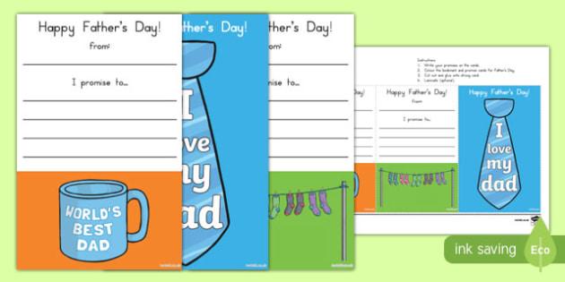 Australia Father's Day Bookmarks-Australia