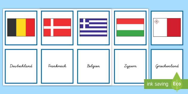 Flaggen Spiel