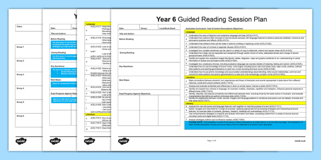 year 6 literacy plan Your trusted source for classroom and professional development materials.