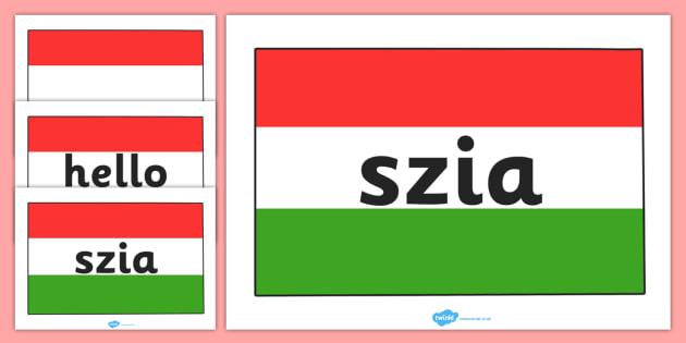 slovakian Hello in
