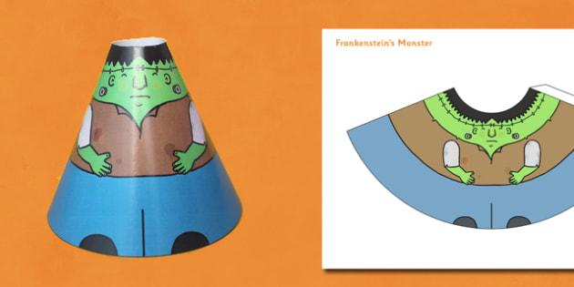 Halloween Cone Characters Frankenstein's Monster - halloween