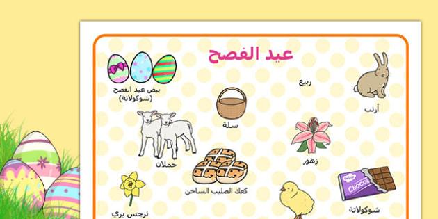 بساط مفردات عيد الفصح - عيد الفصح، وسائل تعليمية