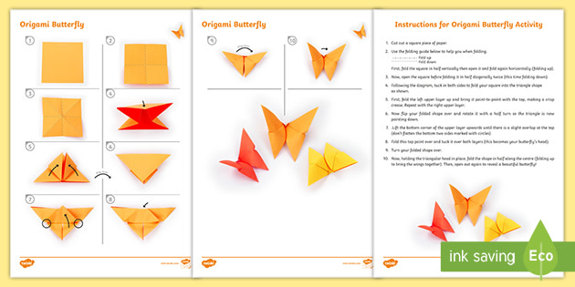 Daffodil Origami Craft Instructions (teacher made) | 315x630