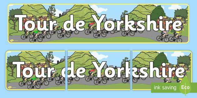 Tour de Yorkshire Display Banner - display, banner, yorkshire