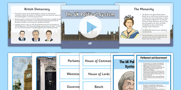 The UK Political System Pack - political system, political, system, pack