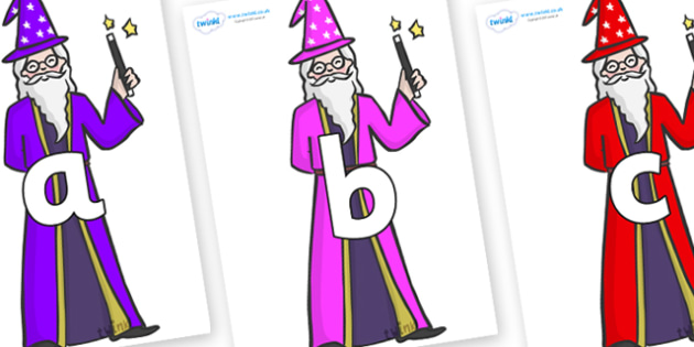 Phoneme Set on Wizards - Phoneme set, phonemes, phoneme, Letters and Sounds, DfES, display, Phase 1, Phase 2, Phase 3, Phase 5, Foundation, Literacy