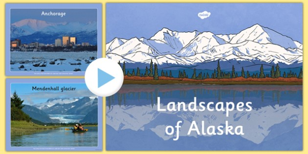 Alaska Photo PowerPoint - alaska, display photos, display, photos, canada, state, powerpoint